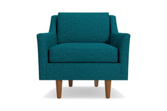 Sutton Chair :: Leg Finish: Pecan