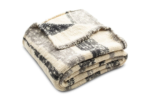 Amini Ikat Knit Throw