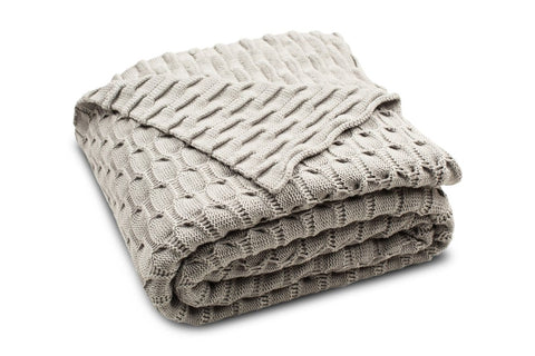 Sheffield Knit Throw