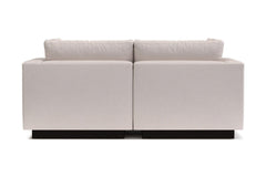 Taylor Plush 2pc Modular Sofa :: Leg Finish: Espresso