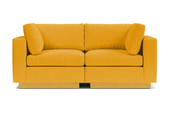 Taylor Plush 2pc Modular Sofa :: Leg Finish: Natural