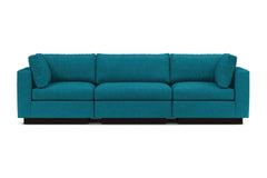 Taylor Plush 3pc Modular Sofa :: Leg Finish: Espresso