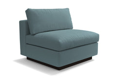 Taylor Plush Armless Seat :: Leg Finish: Espresso