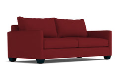 Tuxedo Queen Size Sleeper Sofa :: Leg Finish: Espresso / Sleeper Option: Deluxe Innerspring Mattress