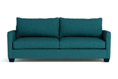 Tuxedo Queen Size Sleeper Sofa :: Leg Finish: Espresso / Sleeper Option: Memory Foam Mattress