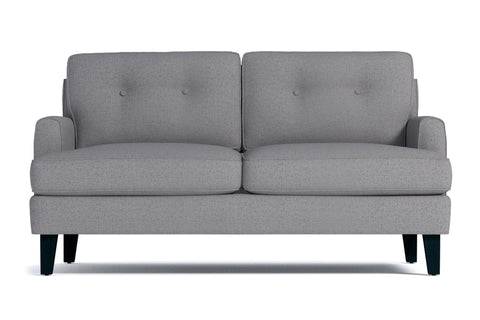 Virgil Loveseat :: Leg Finish: Espresso / Size: Loveseat - 58