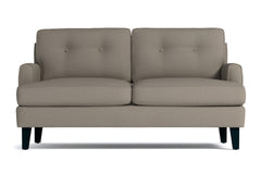 "Virgil Loveseat :: Leg Finish: Espresso / Size: Loveseat - 58""w"