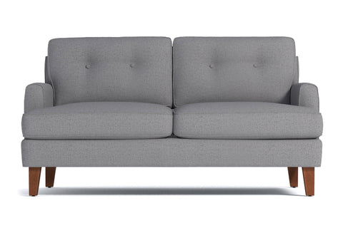 Virgil Apartment Size Sofa :: Leg Finish: Pecan / Size: Apartment Size - 68
