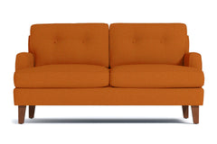 "Virgil Apartment Size Sofa :: Leg Finish: Pecan / Size: Apartment Size - 68""w"