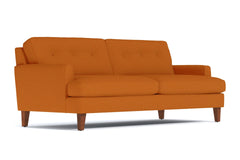 Virgil Sofa :: Leg Finish: Pecan