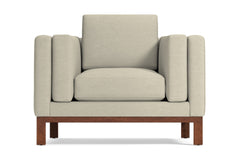Walton Chair :: Leg Finish: Pecan