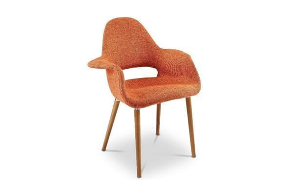 Adams Hill Arm Chair - Orange - Accent Chair - Furniture sold by Apt2B