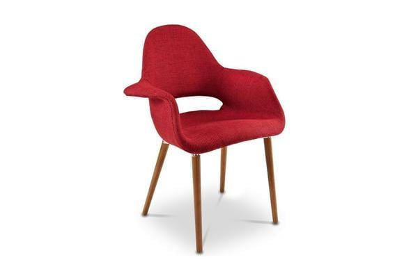 Adams Hill Arm Chair - Red - Accent Chair - Furniture sold by Apt2B