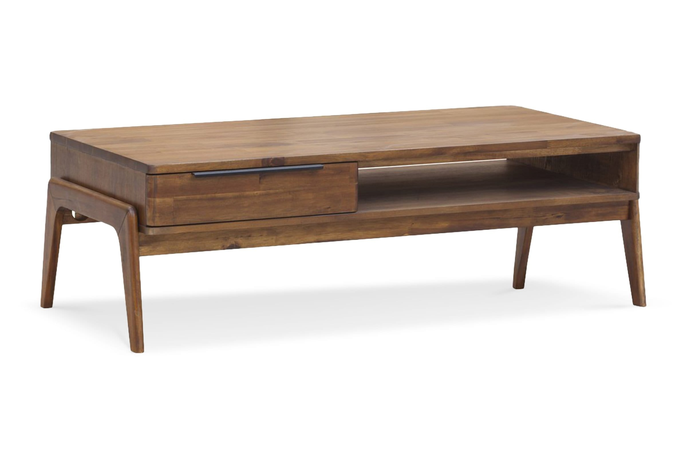 Aiken Coffee Table - Soild Wood - Mid-Century Modern - Living Room Furniture sold by Apt2B