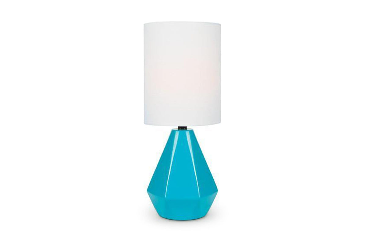 Avedon Mini Table Lamp TURQUOISE   Cool Modern Floor And Table Lamps   Apt2B
