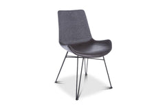 Crestmont Dining Chair GUNPOWDER/BLACK - SET OF 2
