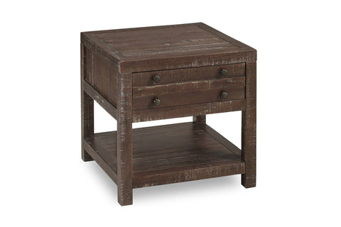 Redondo Pier Side Table MAHOGANY