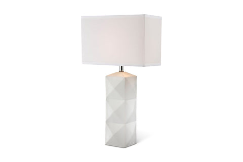 Glenn Table Lamp WHITE - Apt2B