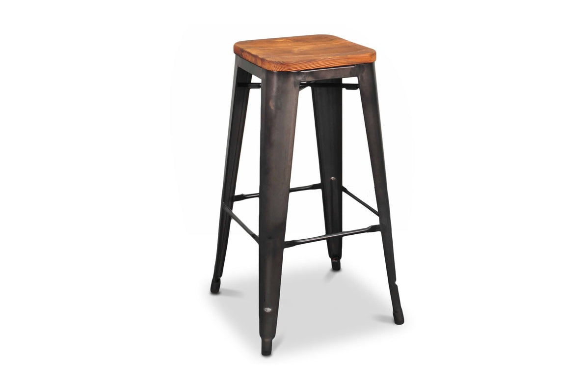 Marvelous Grand Metal Bar Stool Gunmetal Set Of 4 Squirreltailoven Fun Painted Chair Ideas Images Squirreltailovenorg