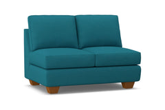 Catalina Armless Loveseat :: Leg Finish: Pecan