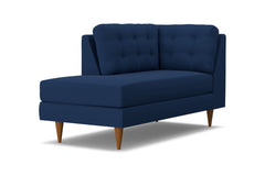 Logan Left Arm Chaise :: Leg Finish: Pecan / Configuration: LAF - Chaise on the Left