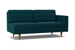 Logan Right Arm Sofa :: Leg Finish: Pecan / Configuration: RAF - Chaise on the Right