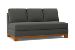 Avalon Armless Sofa :: Leg Finish: Pecan
