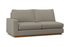Harper Left Arm Apartment Size Sofa :: Leg Finish: Pecan / Configuration: LAF - Chaise on the Left