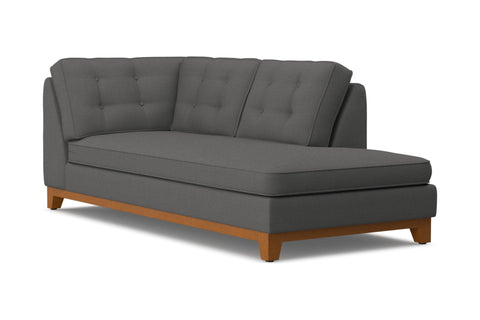 Brentwood Right Arm Chaise :: Leg Finish: Pecan / Configuration: RAF - Chaise on the Right