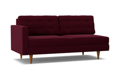 Logan Left Arm Sofa :: Leg Finish: Pecan / Configuration: LAF - Chaise on the Left