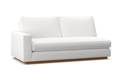 Harper Left Arm Apt Size Sofa w/ Benchseat :: Leg Finish: Pecan / Configuration: LAF - Chaise on the Left
