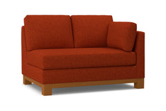 Avalon Right Arm Loveseat :: Leg Finish: Pecan / Configuration: RAF - Chaise on the Right