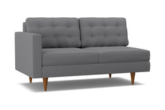 Logan Left Arm Apartment Size Sofa :: Leg Finish: Pecan / Configuration: LAF - Chaise on the Left