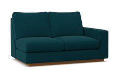 Harper Right Arm Loveseat :: Leg Finish: Pecan / Configuration: RAF - Chaise on the Right