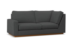 Harper Left Arm Return Apt Size Sofa :: Leg Finish: Pecan / Configuration: LAF - Chaise on the Left