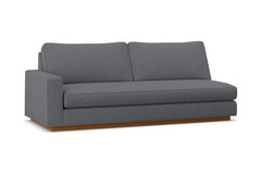 Harper Left Arm Sofa w/ Benchseat :: Leg Finish: Pecan / Configuration: LAF - Chaise on the Left