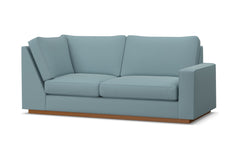 Harper Right Arm Return Apt Size Sofa :: Leg Finish: Pecan / Configuration: RAF - Chaise on the Right