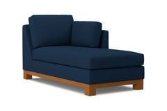 Avalon Right Arm Chaise :: Leg Finish: Pecan / Configuration: RAF - Chaise on the Right