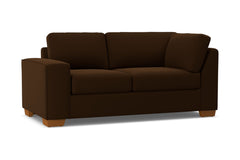 Melrose Left Arm Corner Loveseat :: Leg Finish: Pecan / Configuration: LAF - Chaise on the Left