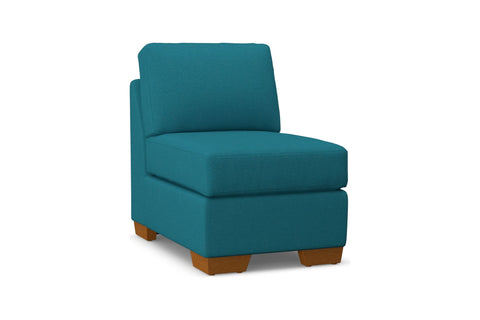 Melrose Armless Chair :: Leg Finish: Pecan