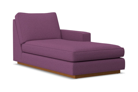 Harper Right Arm Chaise :: Leg Finish: Pecan / Configuration: RAF - Chaise on the Right