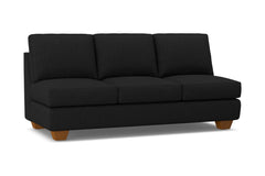 Catalina Armless Sofa :: Leg Finish: Pecan