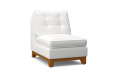 Brentwood Armless Chair :: Leg Finish: Pecan