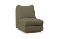 Harper Armless Chair :: Leg Finish: Pecan