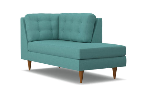Logan Right Arm Chaise :: Leg Finish: Pecan / Configuration: RAF - Chaise on the Right