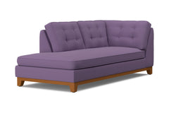 Brentwood Left Arm Chaise :: Leg Finish: Pecan / Configuration: LAF - Chaise on the Left