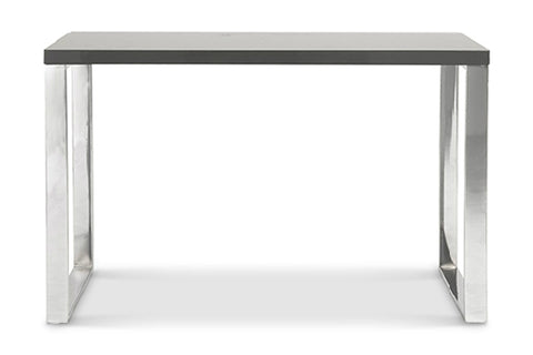 Kings Road Desk GRAY/CHROME - Apt2B - 1