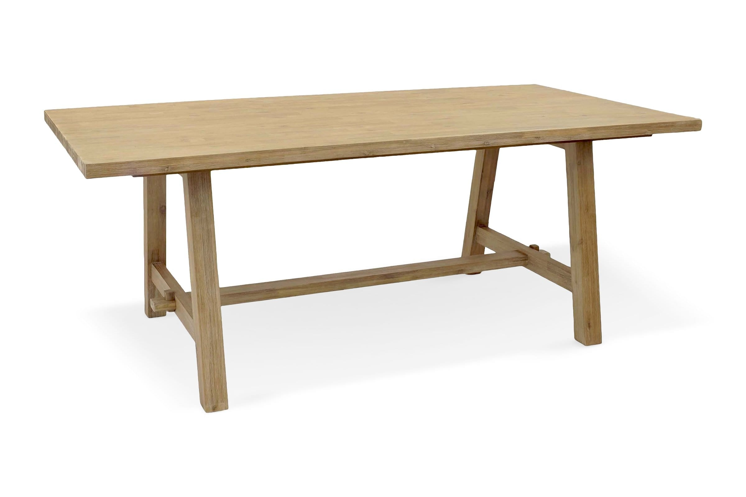 """Lancaster 79"""" Long Dining Table A BASE - Modern Dining Tables Sold by Apt2B"""