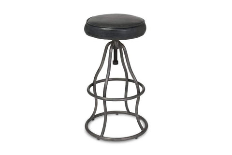 Levett Adjustable Bar Stool VINTAGE BLACK