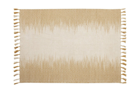 Mendes Area Rug COPPER/WHITE